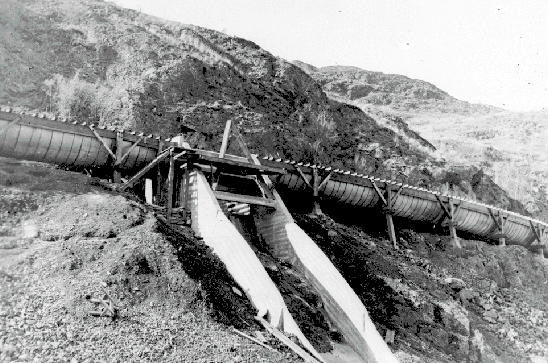 Spillway at Head of Osoyoos Lake
